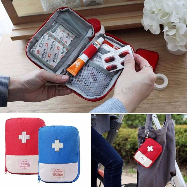 Portable Storage Bag First Aid Emergency Medicine Bag Outdoor Pill Survival Organizer Emergency Kits Package Travel Accessories Bag Parts & Accessories