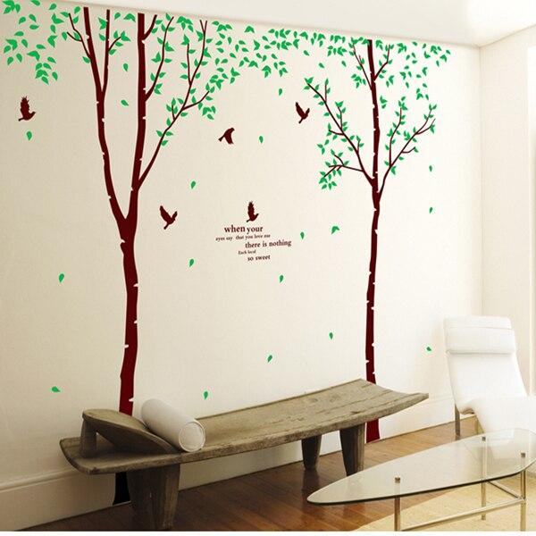 (Drei rechtschreibung) baum große wohnzimmer schmuck wand aufkleber in die hintergrund Kombination kann wiederholt verwendet werden