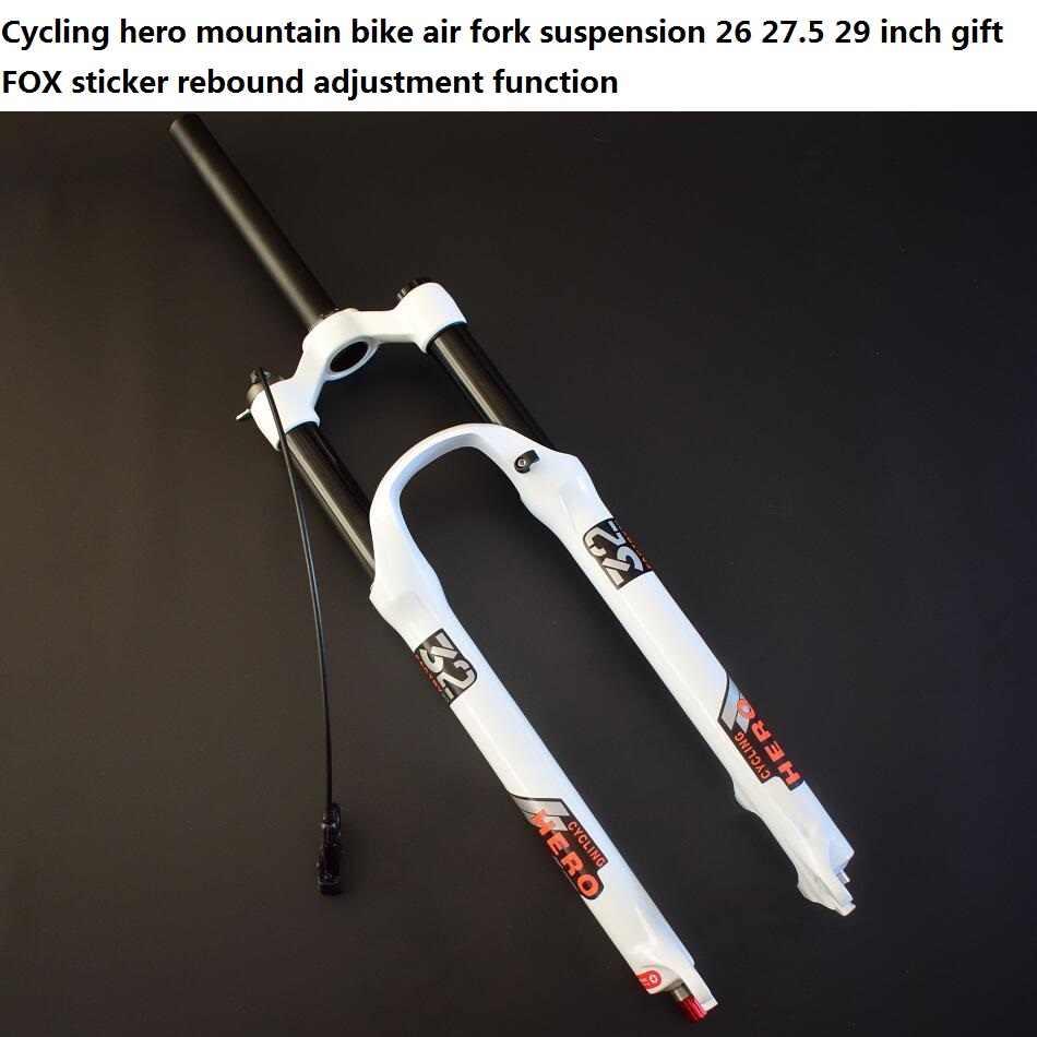 스트레이트 파이프 (1 1/8) 콘 파이프 (1-1/2) 에어 서스펜션 산악 자전거 포크 플러그 26 27.5 29 인치 선물 폭스 스티커 슈퍼 SR SUNTOUR