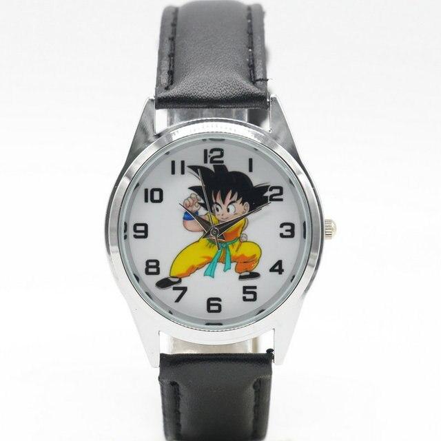 Free Shipping new fashion Dragon Ball Watches Children Kids Boys gift Watch Casu