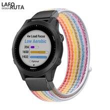 Laforuta Strap for Garmin Fenix 5X 5 5S Plus 3 3HR D2 S60 Watch 26 20MM Quick Release Nylon Easyfit Wrist Band Bracelet Loop New