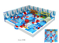 Exported to France New Adventure Indoor Play System for Kids HZ 16726B