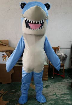 Ocean Shark Mascot Costume Party Mascot Animal Costume Halloween Fancy Dress Christmas Cosplay Stage Performance Clothes