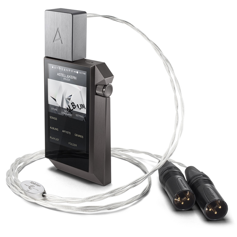 IRIVER Astell&Kern PEF12 1M PEF21 1.5M Balanced Cable adapter audio line by Crystal Cable