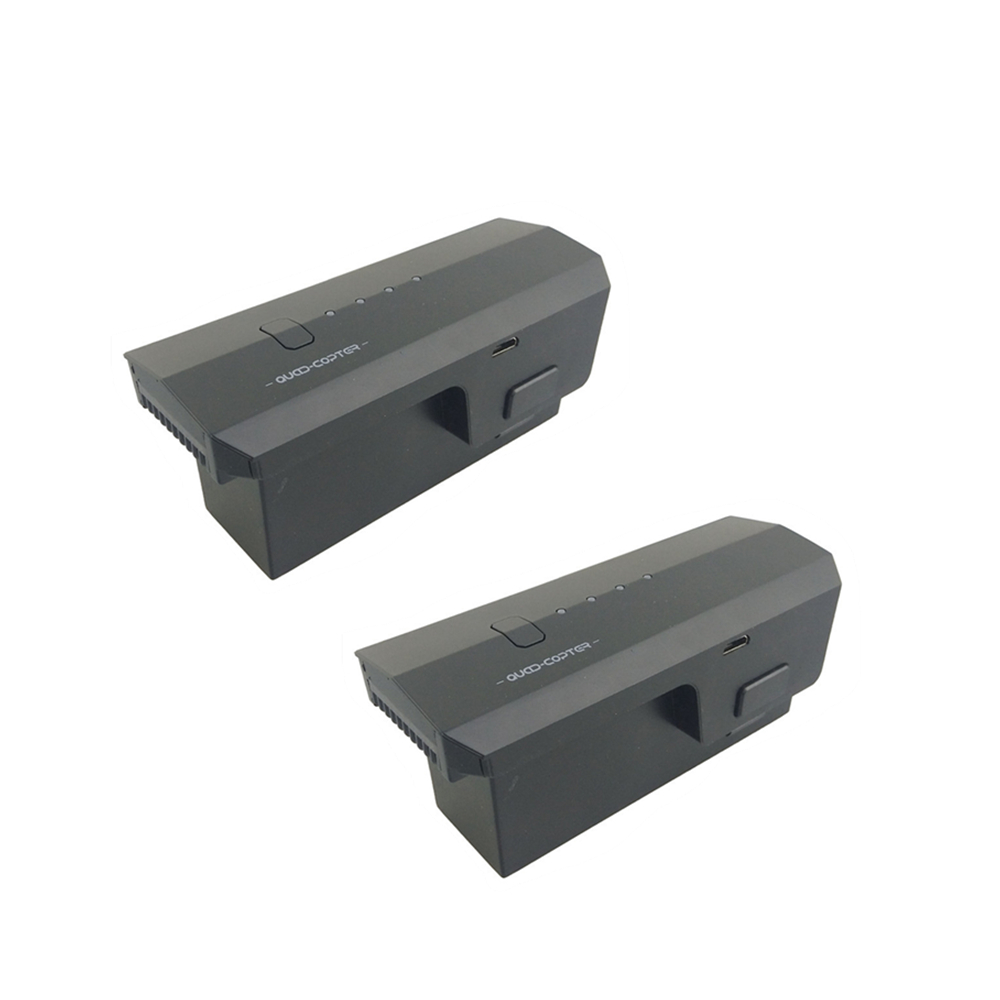 2PCS 11.1V 2500mah lithium battery for SJRC F11 folding four-axis aircraft aerial photography brushless remote control aircraft