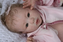 NPK Reborn Doll Kits for 22inches Soft Vinyl Reborn Baby Dolls Accessories for DIY Realistic Toys for DIY Reborn Dolls Kits