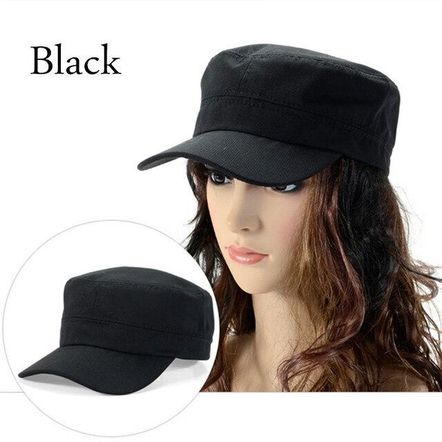 d59b2f1d0b4 Bigsweety 1PC Stylish Castro Cadet Patrol Cap Hat Adjustable Women Men  Fashion Sunhat High Quality Plain Military Army Caps New