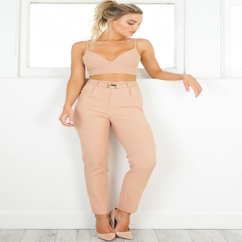 Summer new hot Italian style female pencil pants fashion Slim female trousers wild ladies casual hip pants high waist pants in Pants amp Capris from Women 39 s Clothing