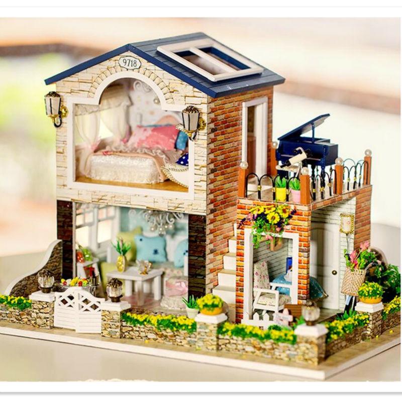Online Buy Wholesale miniature dollhouse kits from China miniature dollhouse kits Wholesalers ...