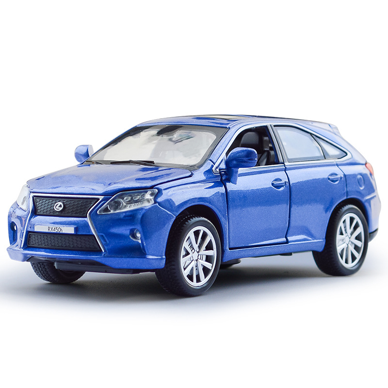 1:32 Toy Car LEXUS RX450H SUV Car Model Metal Alloy Diecasts & Toy Vehicles Model Pull Back Electric Car Toys For Children ...