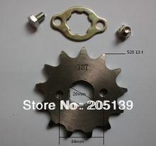 NEW 13 t tooth 20MM FRONT ENGINES sprocket FOR 520 CHAIN motorcycle MOTO PIT dirt ATV parts bike