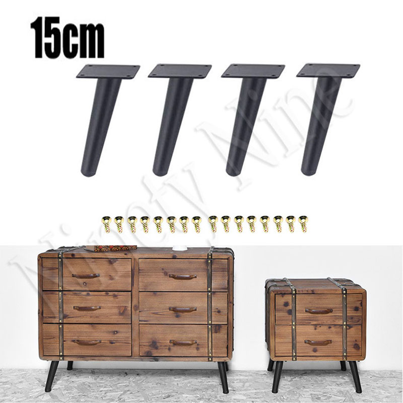 Terrific Us 24 39 39 Off 4Pcs Furniture Legs Sofa Legs 15Cm Full Set Chair Tapered Legs For Couch Coffee Table Bench Chair Replacement Leg In Furniture Legs Ibusinesslaw Wood Chair Design Ideas Ibusinesslaworg