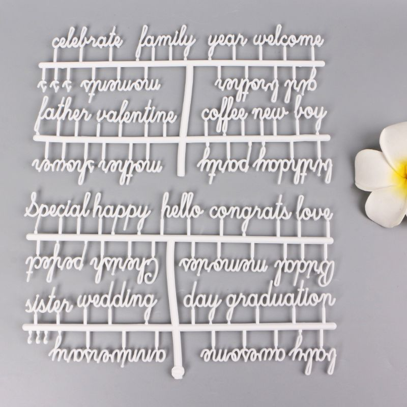 Letter Board Letters Set 194 Numbers Special Characters Words For Felt Changeable Message Signs & Letterboards(China)