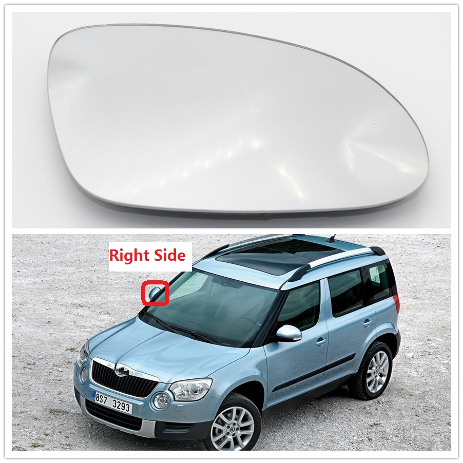 2011 to 2014 Hyundai Veloster Wing Mirror Glass With Base-Heated RHS