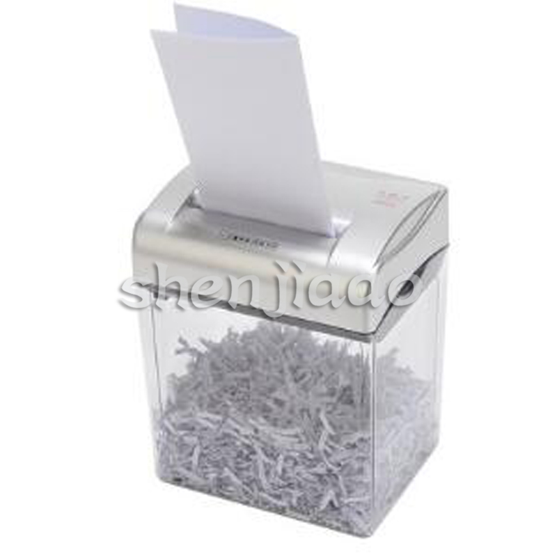 Mini Electric Paper Shredder Office Equipment Broken Electric Separation Crushers Broken Paper/Card High Power Strong And Fast