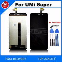 Original Quality For UMi Super LCD Display Touch Screen Digitizer For Umi Super Euro Lcd Screen
