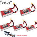 Tauotuo 5pcs Bateria LiPo Battery 11.1V 1500Mah 3S 35C Max 60C XT60 For RC Quadcopter Drone Helicopter Car Airplane Toy Parts