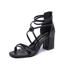 Shoes Women 2019 Summer Fashion Sandals Cross Tied Ladies Shoes High Heels Sandals Party Dress Shoes Open Toe Gladiator Sandals women gladiator sandals cross tied open toe high heels pumps cut outs serpentine lace up sandals party wedding sexy ladies shoes