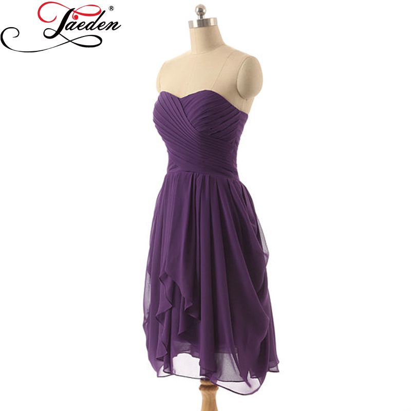 4e315227877 JAEDEN Sweetheart Neck Long Bridesmaid Dresses Cheap Grape Tulle Sleeveless  PleatS Lace-up Back 2017 E018 A Line Party GownsUSD 88.99 piece