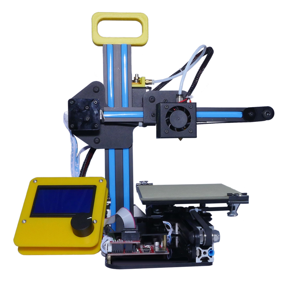 DHL Free Creality CR-7 Portable Mini 3D Printer FDM LCD Off-line Printing Self-assembly DIY Kit Lightweight for Artistic Design