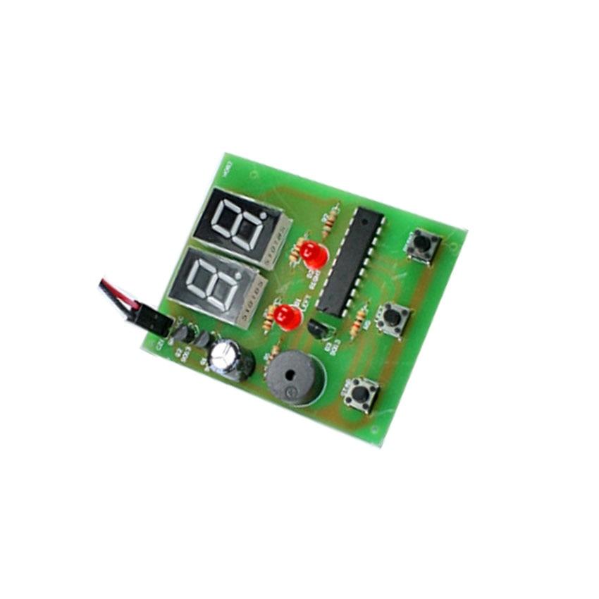 Electronics Tester Parts : Teaching diy human body reaction speed detection circuit
