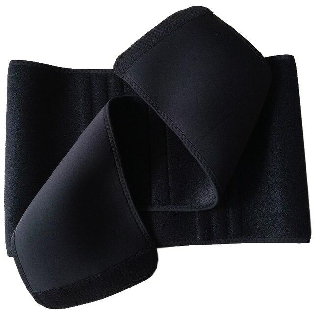 AOFEITE Women Men Silmming Waist Trainer Belt BodyShaper Waist Cincher Tummy Trimmer Belt Adjustable Work For An Ampulheta Shape 2