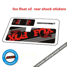 2017 new FOX float x2 rear shock protective stickers for MTB mountain bike bicycle race cycling AM DH dirt decals free shipping