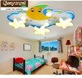 Детская потолочная лампа Qiseyuncai Monden для мальчиков и девочек  светодиодная лампа для спальни с милым мультяшным рисунком  креативные Звездны...