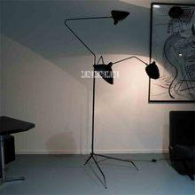 Floor Lamps Living room Study Bedroom led decoration light Nordic Post-Modern Fashion Oblique 3-head Creative Art Lamp L4013-3