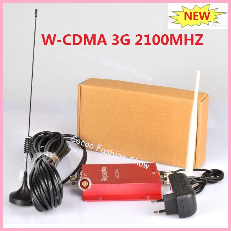 New WCDMA 2100Mhz 3G Repeater Mobile Phone 3G Signal Booster W-CDMA 3G Cellular Signal Repeater Amplifier &  Sucker AntennaNew WCDMA 2100Mhz 3G Repeater Mobile Phone 3G Signal Booster W-CDMA 3G Cellular Signal Repeater Amplifier &  Sucker Antenna