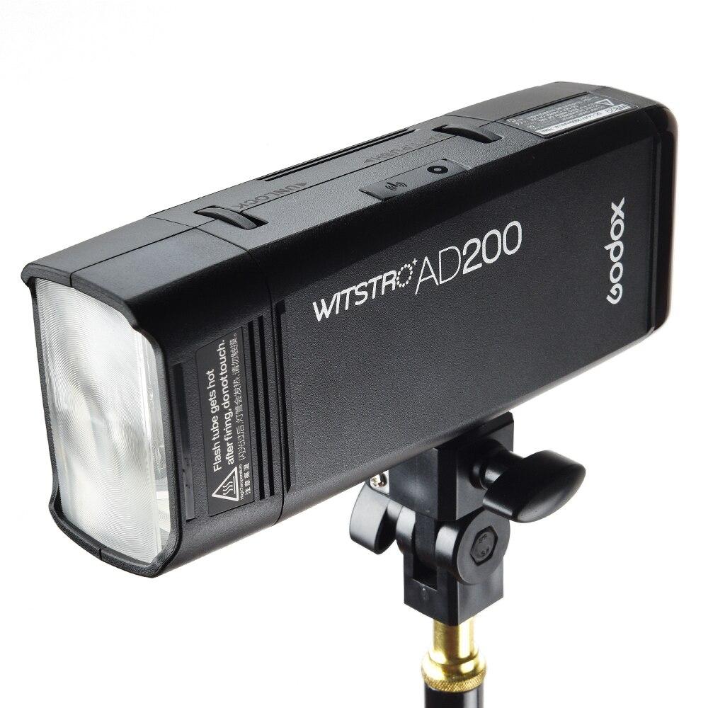 Godox AD200 Pocket Flash 200W 2.4G Sistema X inalámbrico TTL HSS Luz - Cámara y foto - foto 4