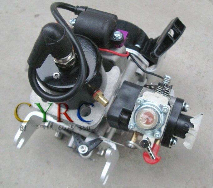 Chine moteur à essence à démarrage par traction Zenoah 26CC QJ sans embrayage pour bateau RC
