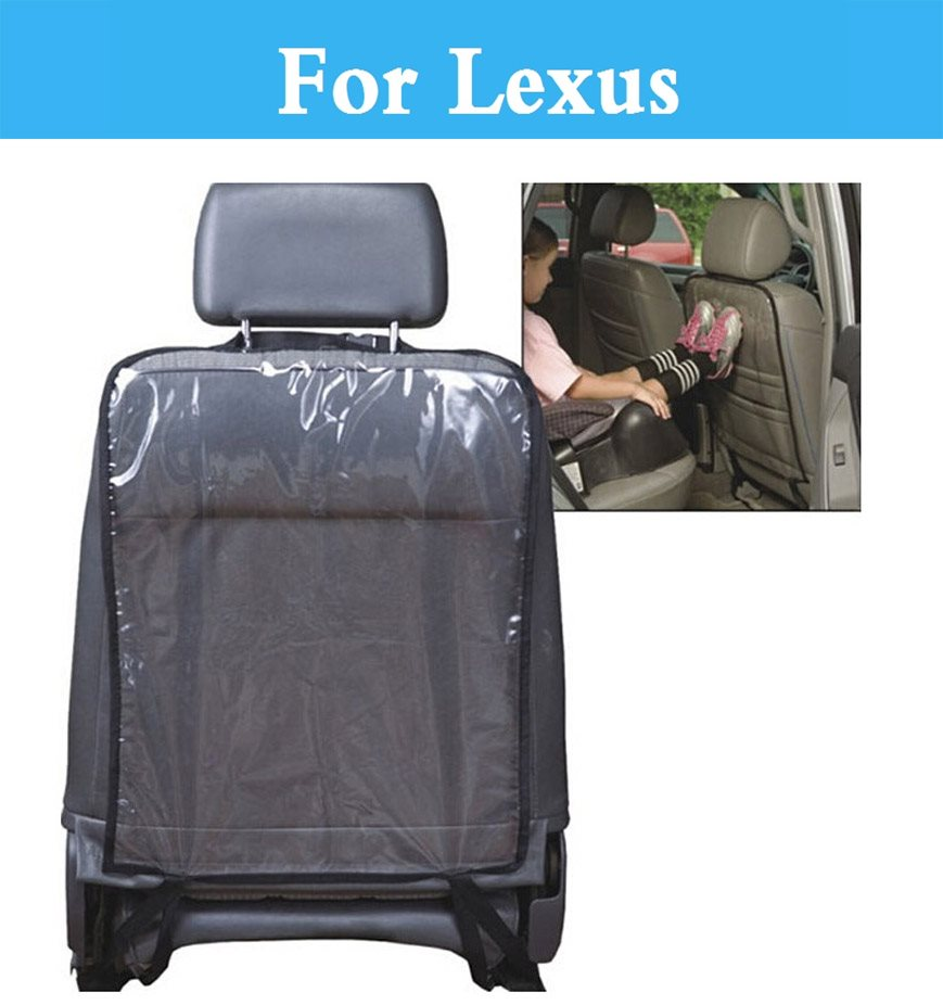 1pc Car Seat Mat fit Children Kick Transparent Anti-Kick Cover For Lexus CT ES GS GS F GX HS IS IS F LFA LS LX NX RC RC F RX SC