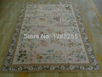 2014 Promotion Top Fashion Freeshipping Styling Alfombras Export Trade Handmade Needlepoint Rug 5565 1.78x2.6 Meters Carpets