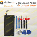 LCD Screen for Lenovo A6000 100% new High Quality LCD Display +Touch Screen For Lenovo A6000/Lenovo K3 Smartphone