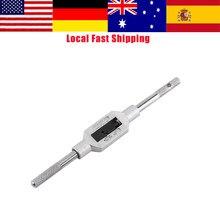 Soporte ajustable para llave de 130mm para ingenieros, adecuado para M1-M6, grifos métricos, rosca, escariador de perforación
