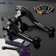 цена на For Yamaha WR250F WR 250F WR250 F WR 250 F 2005 2006-2018 CNC Pivot Motorbike Accessories Pit Dirt Bike Brake Clutch Levers