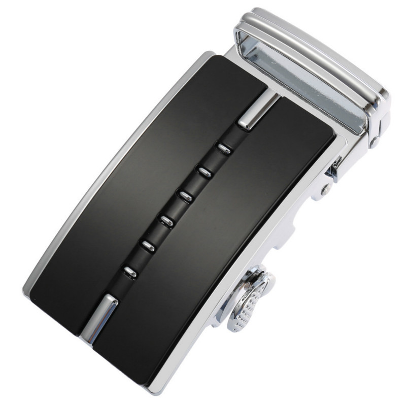 Genuine Men's   Belt   Head,   Belt   Buckle, Leisure   Belt   Head Business Accessories Automatic Buckle Width 3.5CM luxury fashion g15489