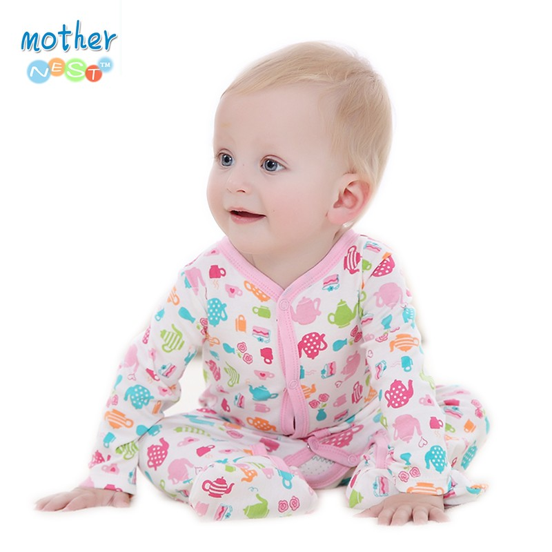 2016 Spring Autumn Baby Romper Long Sleeves Baby Clothes Baby Boy Clothes Cartoon Animal Jumpsuit Baby Girl Romper Baby Clothing (3)