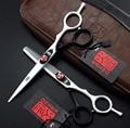 Envío RÁPIDO!! profesional herramientas de Peinado KASHO 6 pulgadas 440C tijeras de peluquería peluquería tijeras de corte de pelo de alta calidad