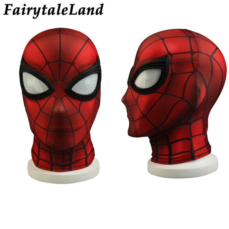 Spider-Man Costume Cosplay Avengers Infinity War Halloween Superhero Spider Man Jumpsuit Peter Parker Costume Spandex Jumpsuit