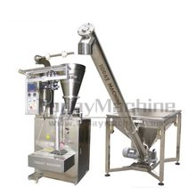 Automatic milk coffee powder filling packaging machine plastic bag sealing machine(China)