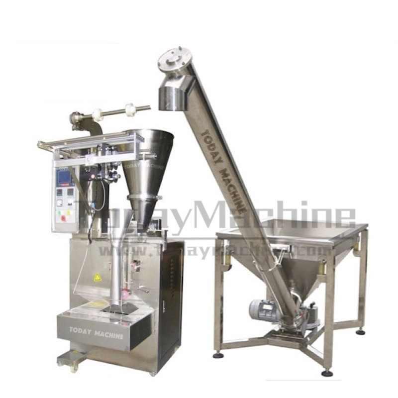 Automatic milk coffee powder filling packaging machine plastic bag sealing machine