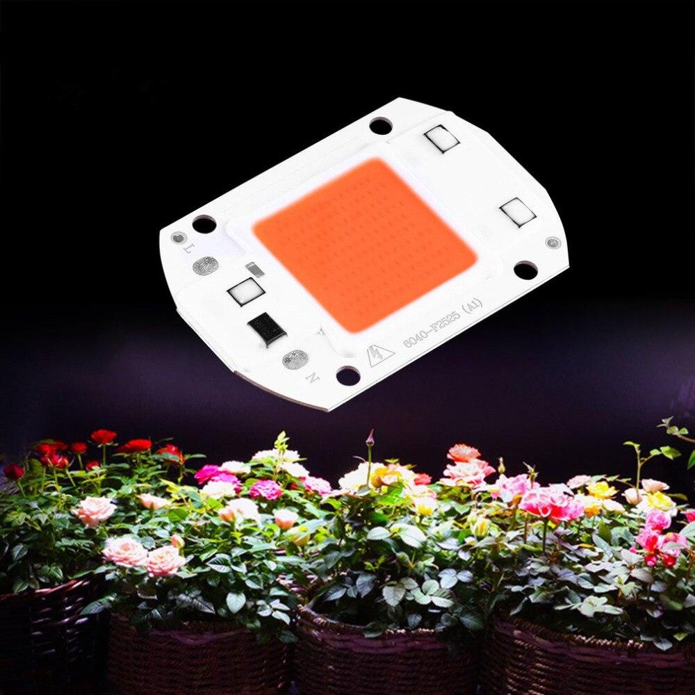 30 Watt Cob Led Wachsen Lichter Ac 220 V 110 V Lampe Licht Chip Gesamte Spektrum 380nm-840nm Für Blume Aquarienpflanzen Indoor-anlage Sämling Zahlreich In Vielfalt Led-wachstumslichter