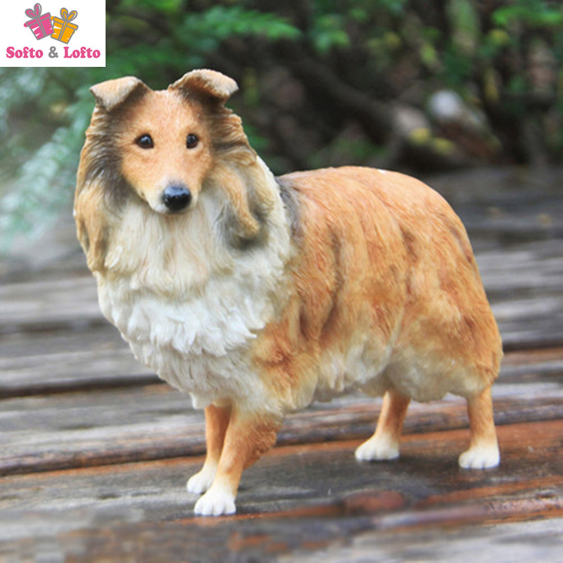 NEW Shetland sheepdog shelti dog figure,car styling home room decoration,quality doggy puppy article Christmas birthday gift toy free shipping sleeping beauty figure resin toy vivid lifelike angel girl cake home office car decoration christmas birthday gift