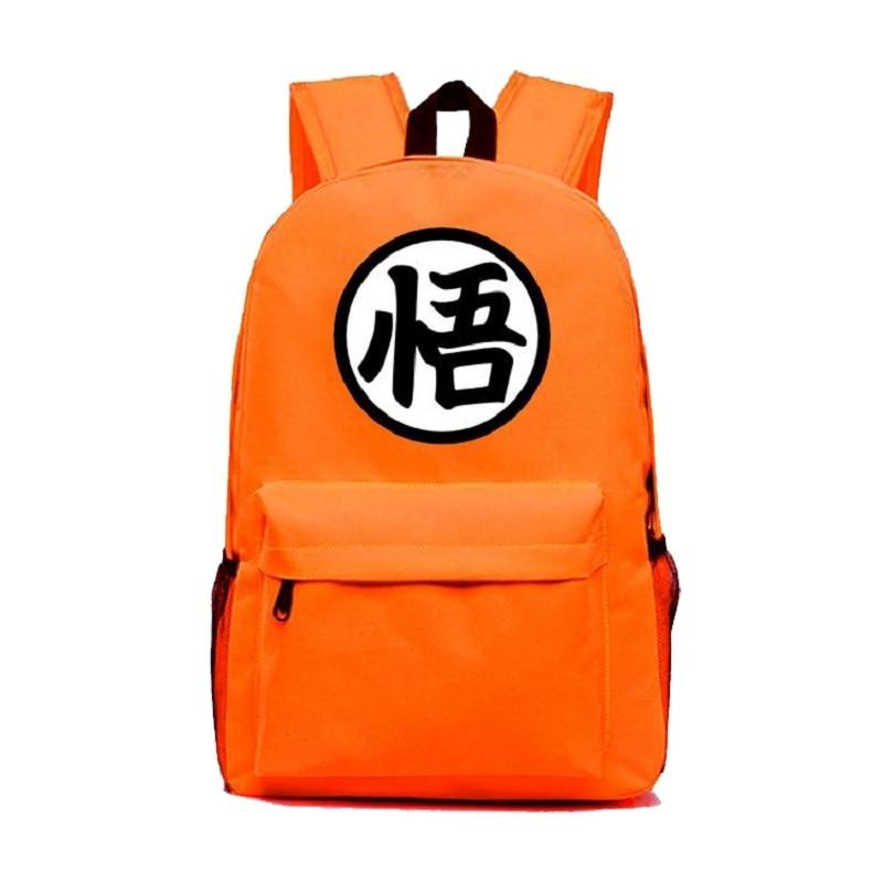 Hohe Qualität Japanischen Anime Dragon Ball Rucksäcke Goku Leinwand Rucksack Schultaschen Für Jugendliche Lässig Reise Laptoptasche
