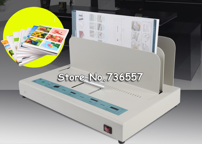 hot thermal glue manual binding machine