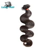 Luasy Hair Body Wave Brazilian Hair Weave Bundles 8 28inch Virgin Hair 1/3/4 Bundles Deals 100% Human Hair Weave Extensions