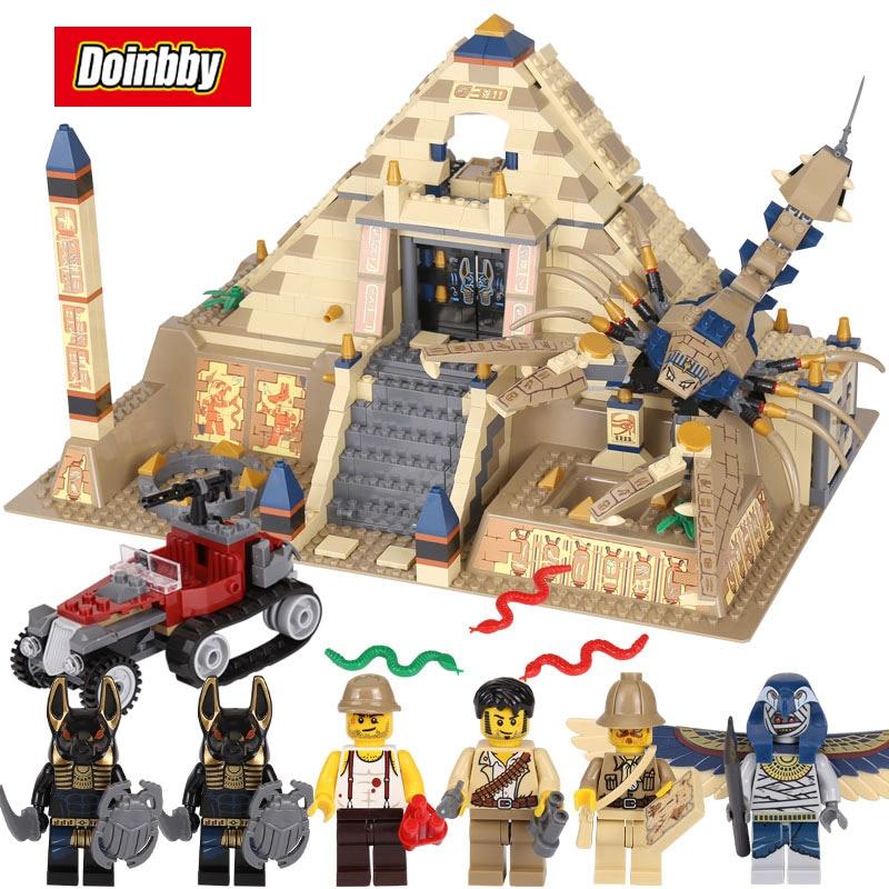 Scorpion Pyramide compatible avec Legoings Egypte Pharaon blocs de construction Briques Jouets Modèle Cadeaux