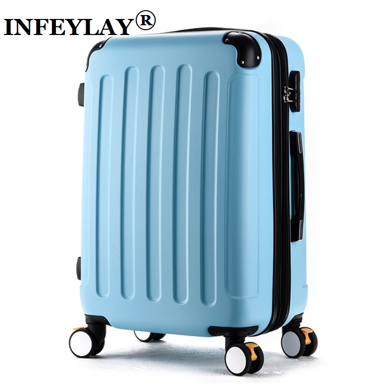 HOT!Fashion 2024 inches girl trolley case ABS students lovely Travel waterproof luggage rolling suitcase extension Boarding box 20 24in rolling luggage suitcase on wheels abs girl trolley case travel waterproof luggage case extension boarding box
